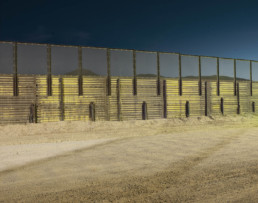 La Linea photographs of the US Mexican border
